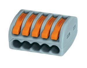 WAGO - oldható, rugós vezetékösszekötő